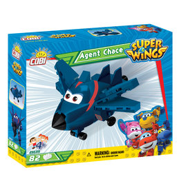 COBI Super Wings Agent Chase