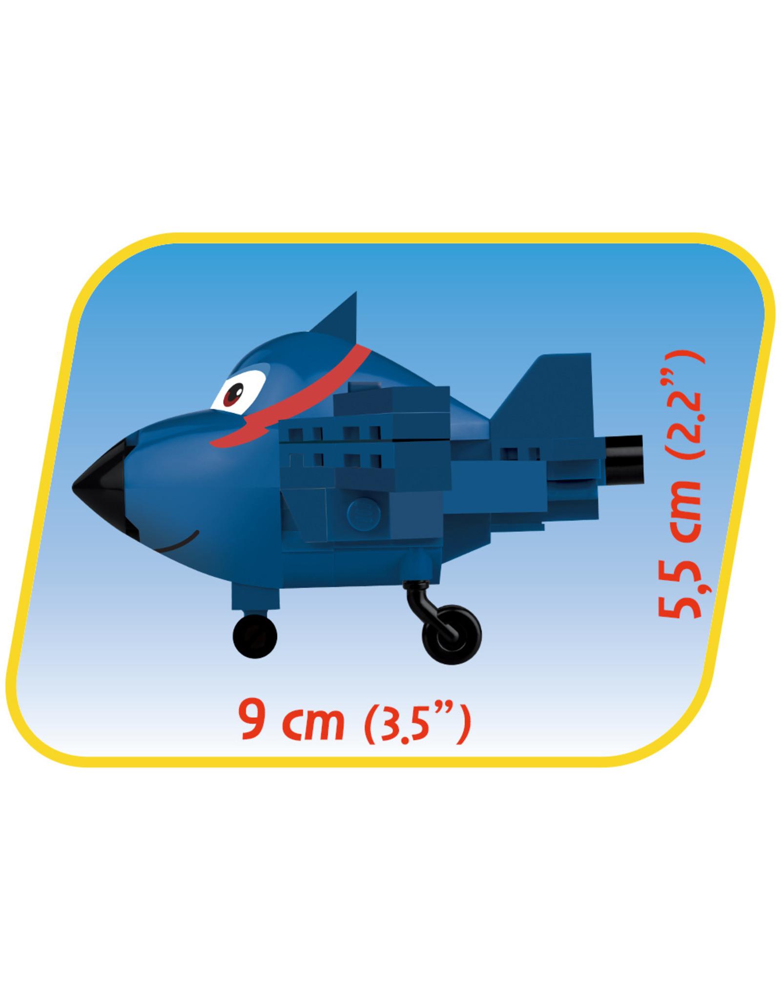 Cobi COB25135 Super Wings-Agents Chase 82 pcs