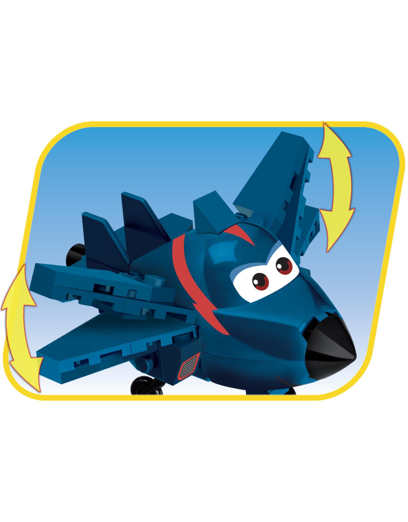 COBI Cobi  25135  Super Wings Agent Chase