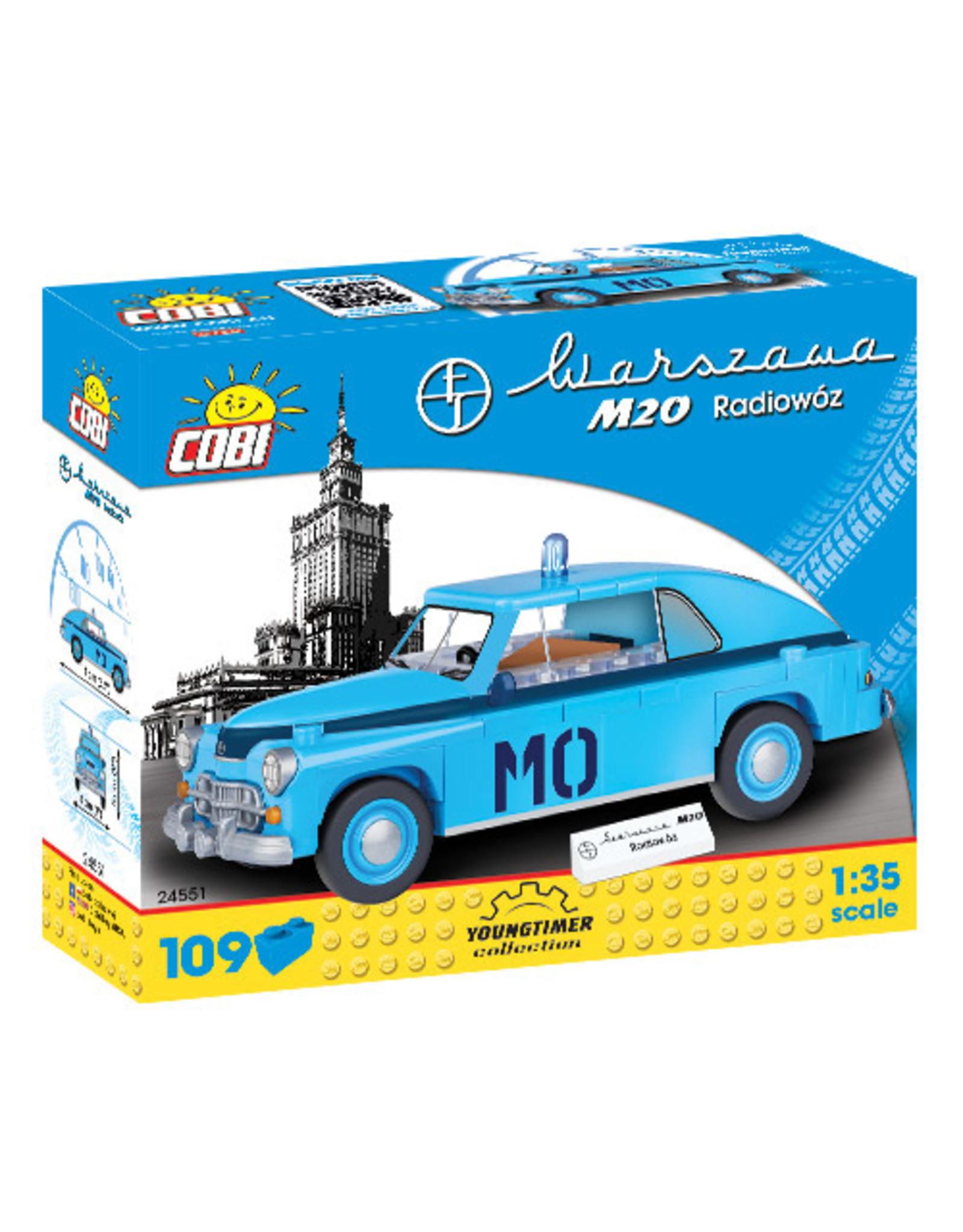 COBI COBI 24551 - Warszawa M20 Politieauto