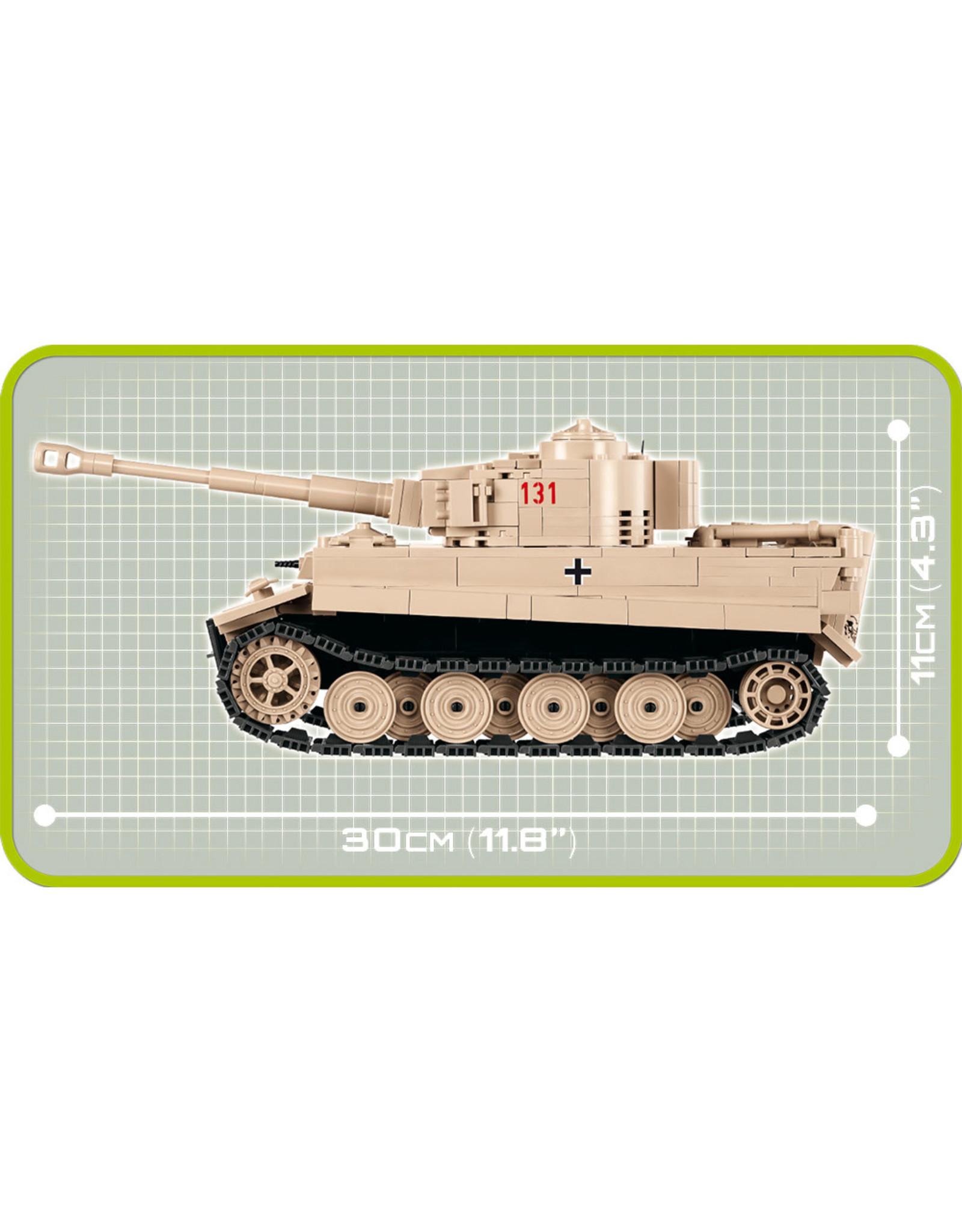 COBI COBI WW2 2519 - Tiger 131 SD.KFZ.181 Panzerkampfwagen VI