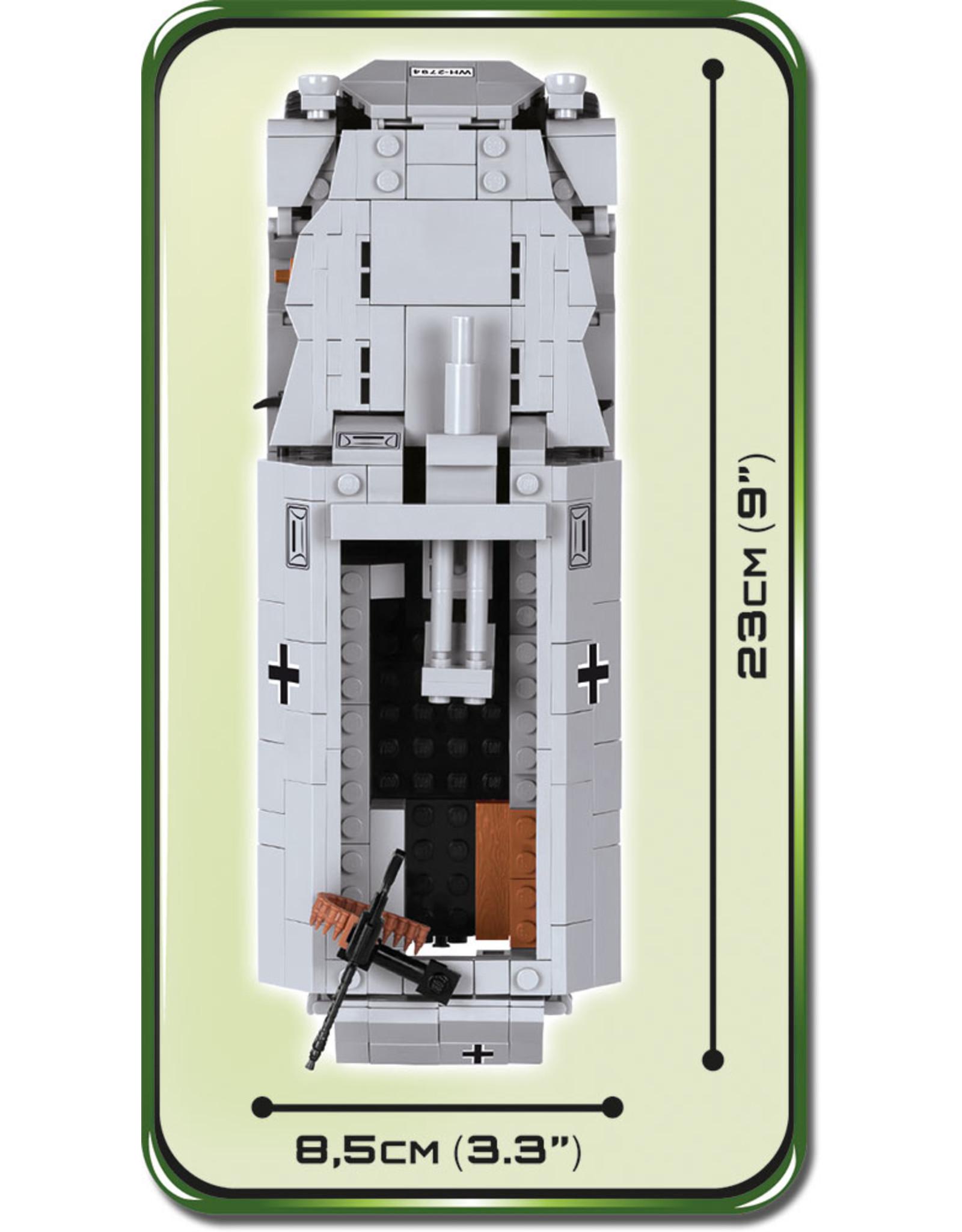 COBI COBI  WW2 2472A - Sd.Kfz. 251-9 Ausf. C Stummel