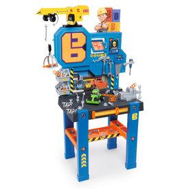 Smoby Smoby Bob der Baumeister - Werkbank + Kran