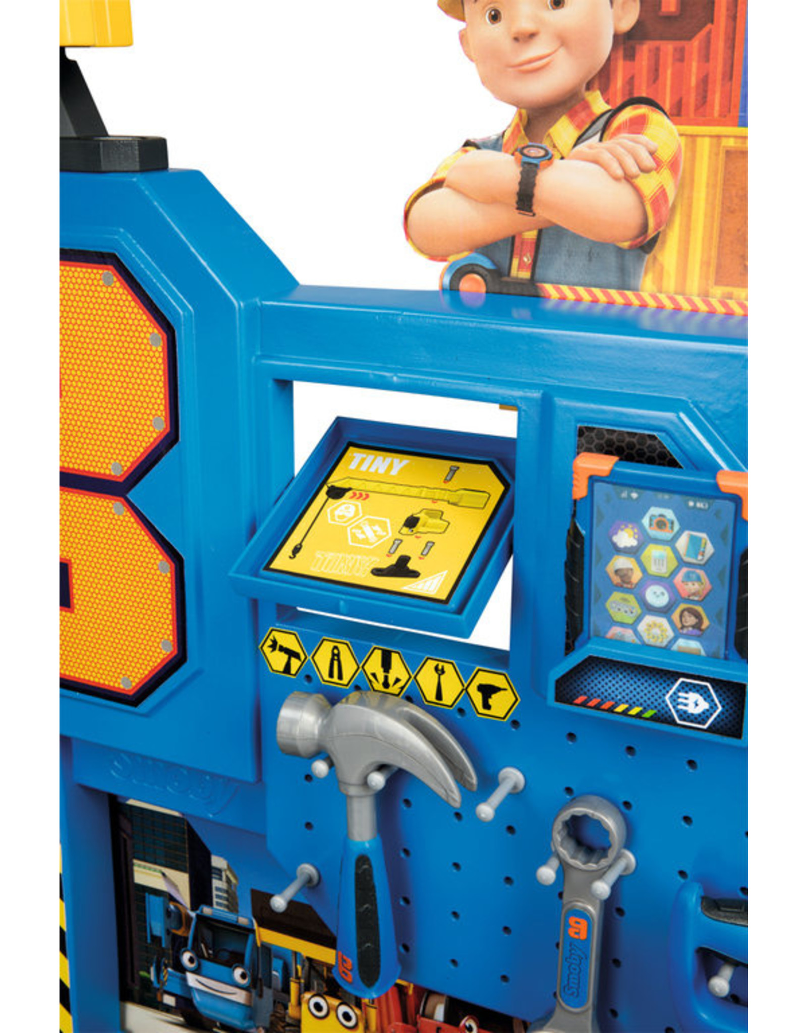 Smoby Smoby - Bob de Bouwer - Werkbank met kraan - Smoby - Altoys