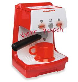 Smoby Rowenta Espresso machine rood - Speel Keuken