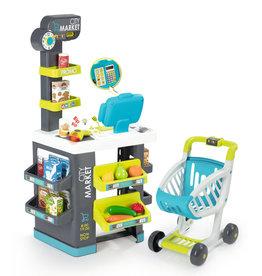 Smoby Mini-markt met winkelwagen - Speel winkel
