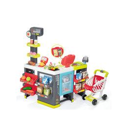 Smoby Smoby - Maxi Supermarkt met winkelwagen - Speel winkel
