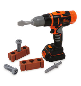 Smoby Smoby - Black + Decker Mechanical Drill