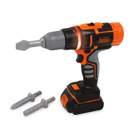 Smoby Smoby - Black + Decker Electronic Drill