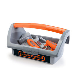 Smoby Smoby - Black + Decker Toolbox + 6 Tools