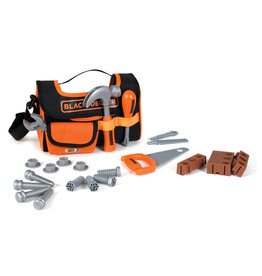 Smoby Smoby - Black + Decker fabric tool case