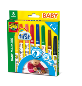 SES Creative My first - Baby Markers 8 Farben