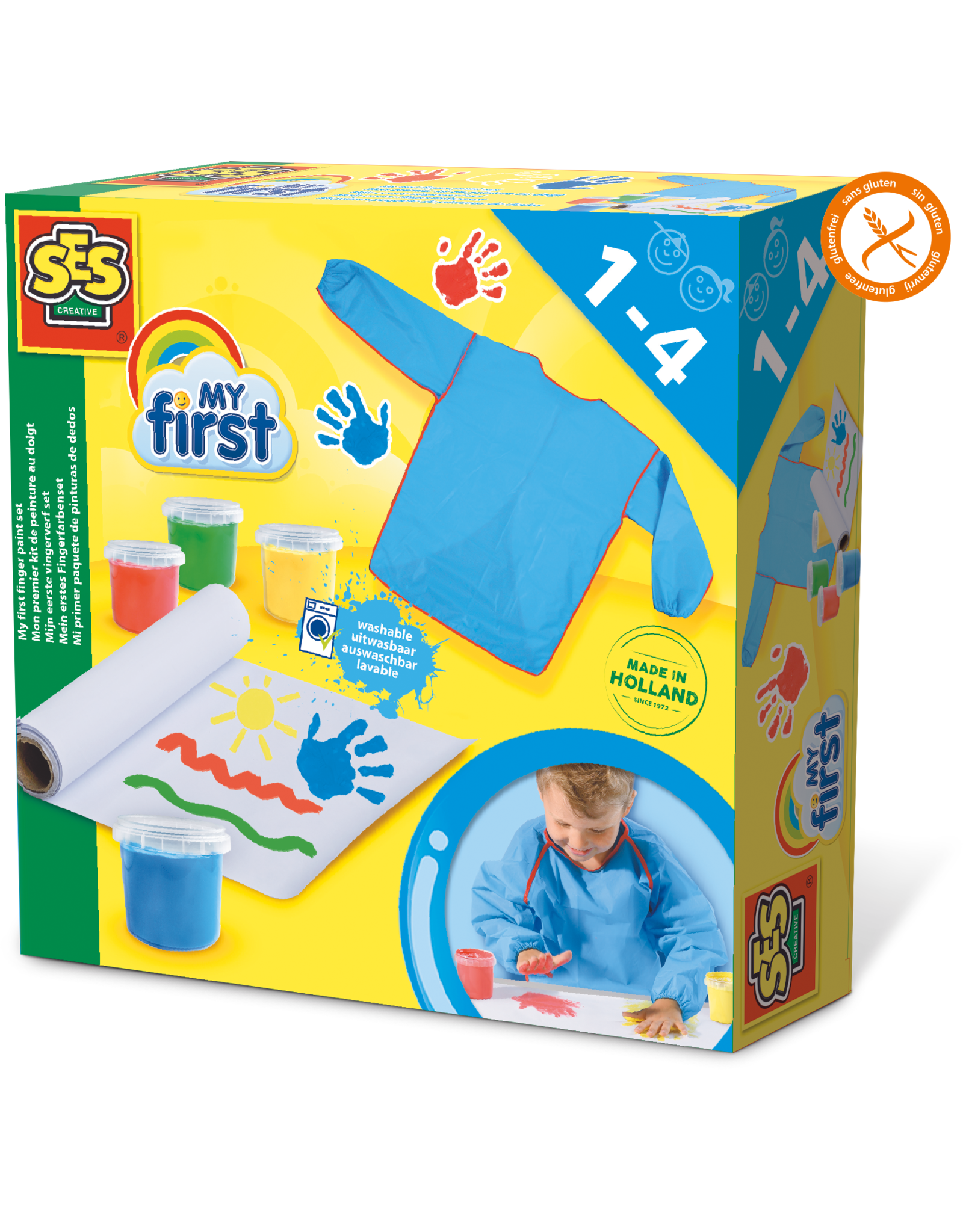 SES Creative My first - Mijn eerste vingerverf set