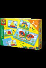 SES Creative Mozaiekbord met kaarten
