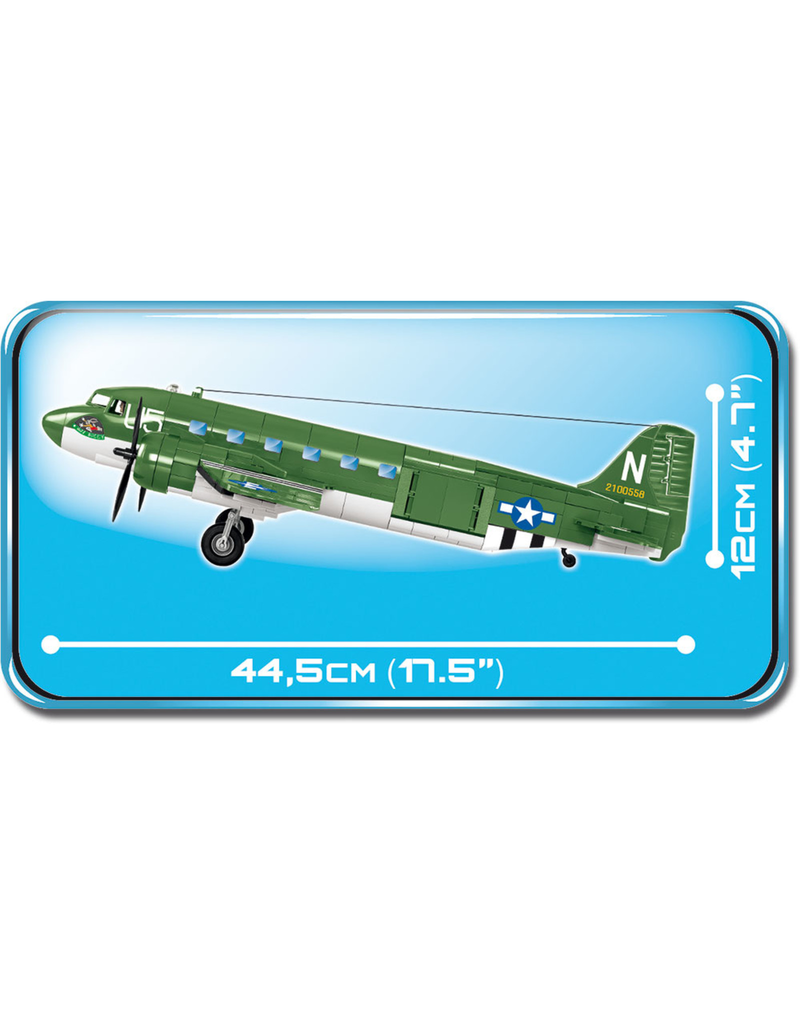 COBI Cobi WW2 5701 Douglas C-47 Skytrain (Dakota)