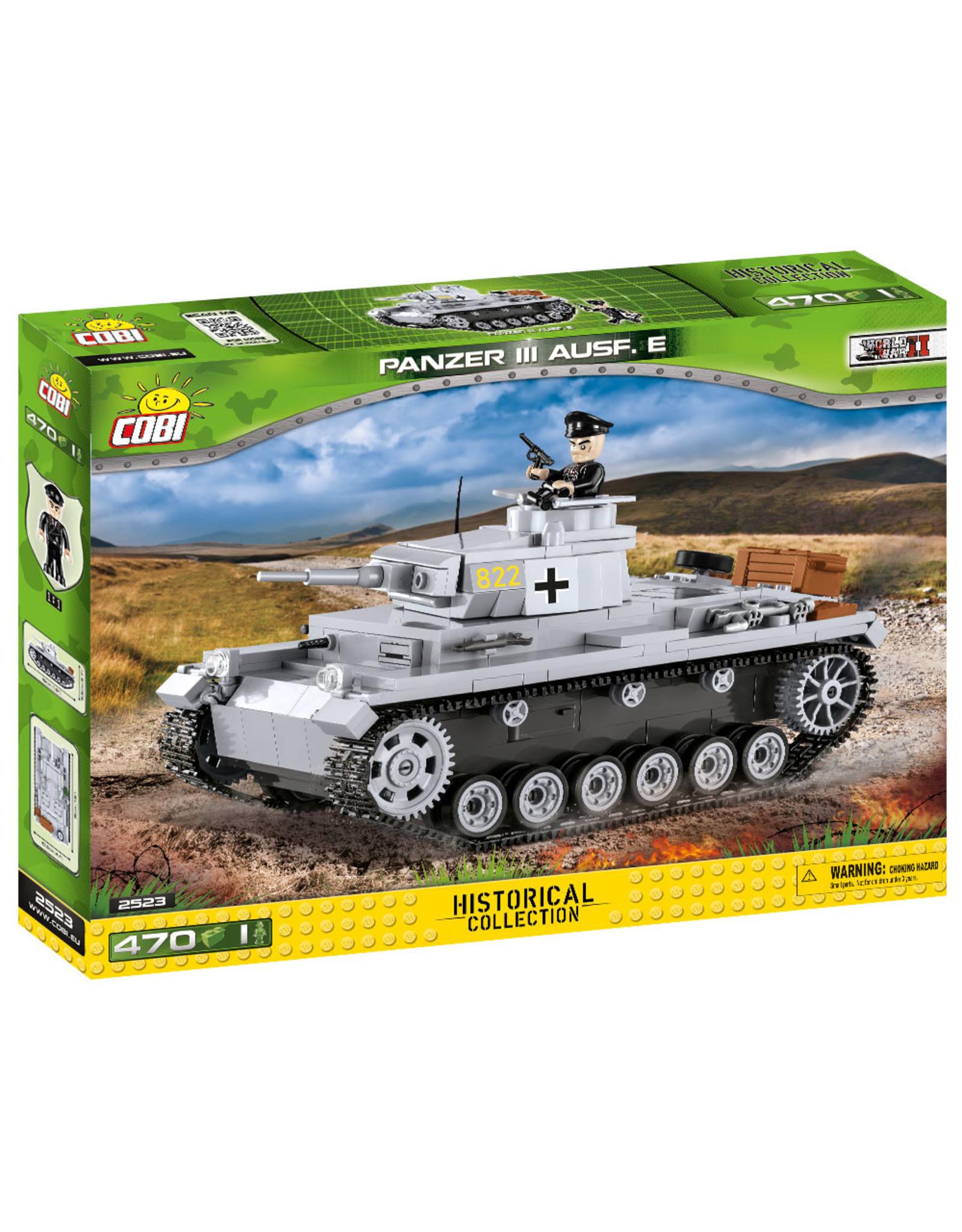 COBI Cobi WW2 2523 - Panzer III Ausf.E