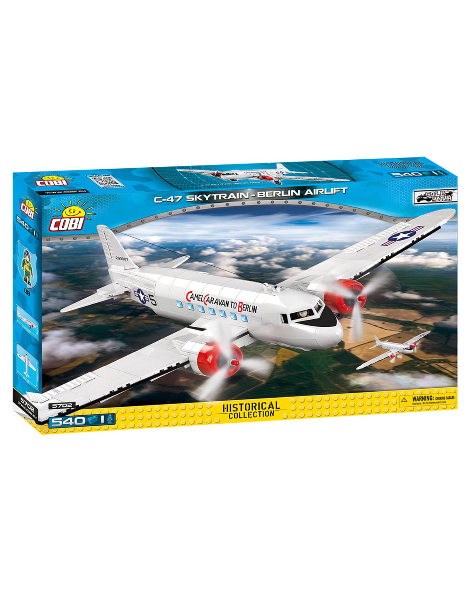 COBI Cobi CW 5702 - C-47 Skytrain Berlin Airlift