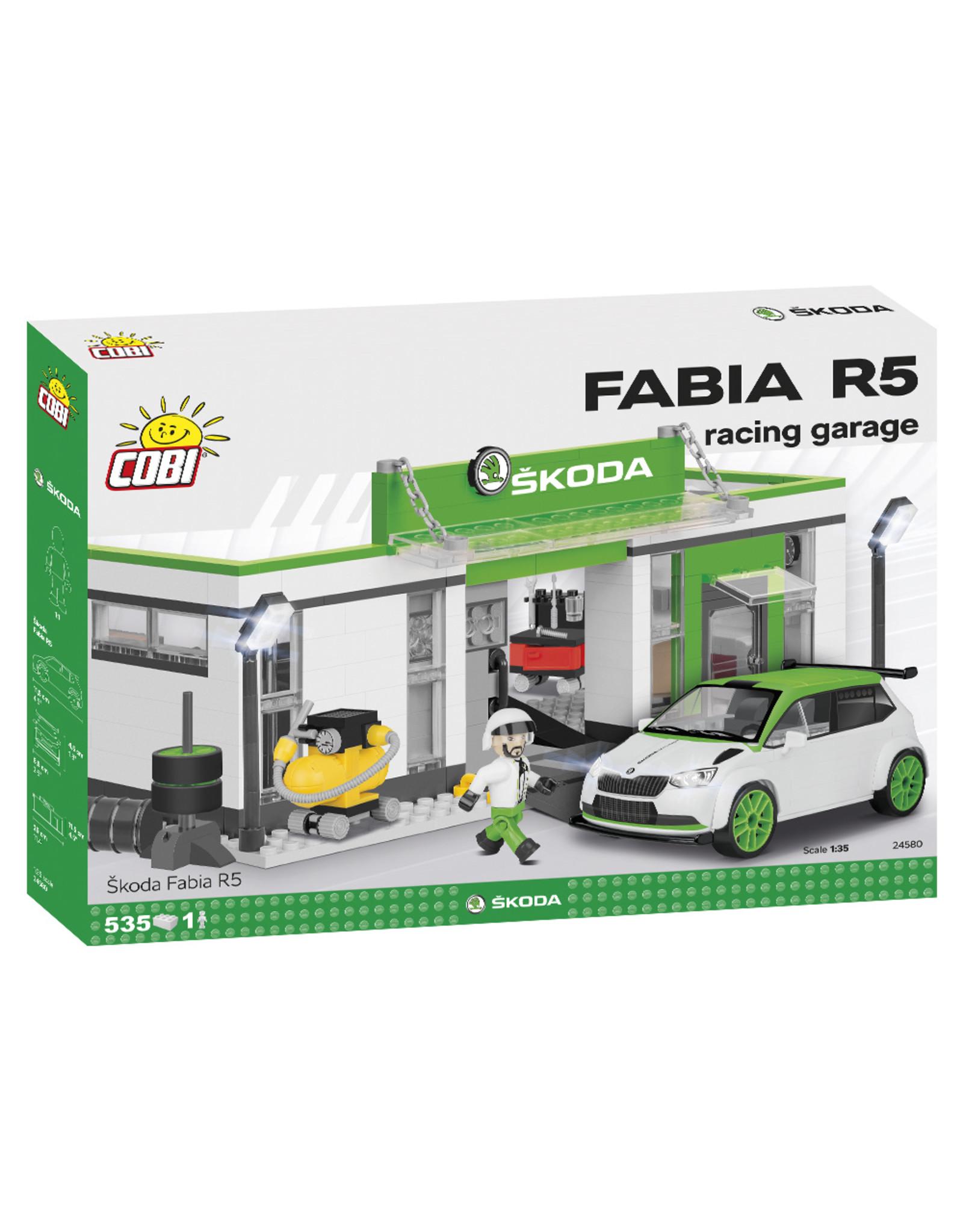 COBI COBI 24580 Skoda Fabia R5 Racing Garage