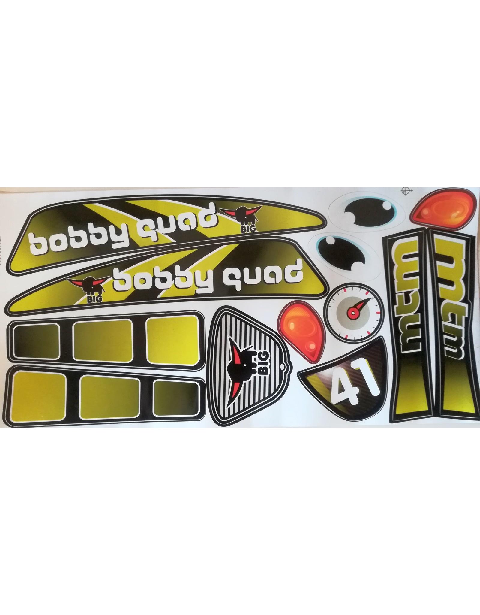 BIG Aufklebersatz BIG Bobby Quad Racing