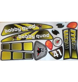 BIG Sticker set Bobby Quad Racing