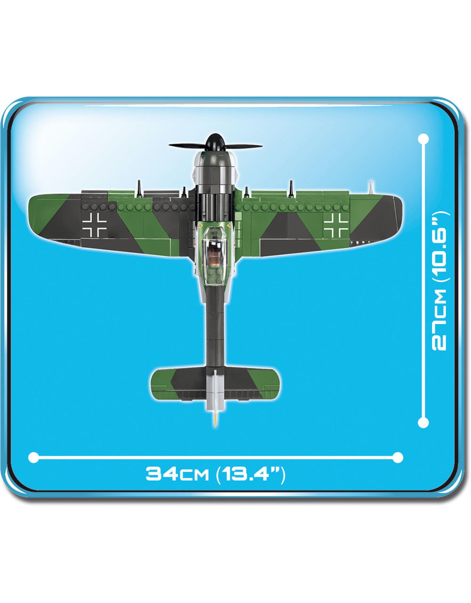 COBI COBI  WW2 5704 - Focke Wulf FW190A-8