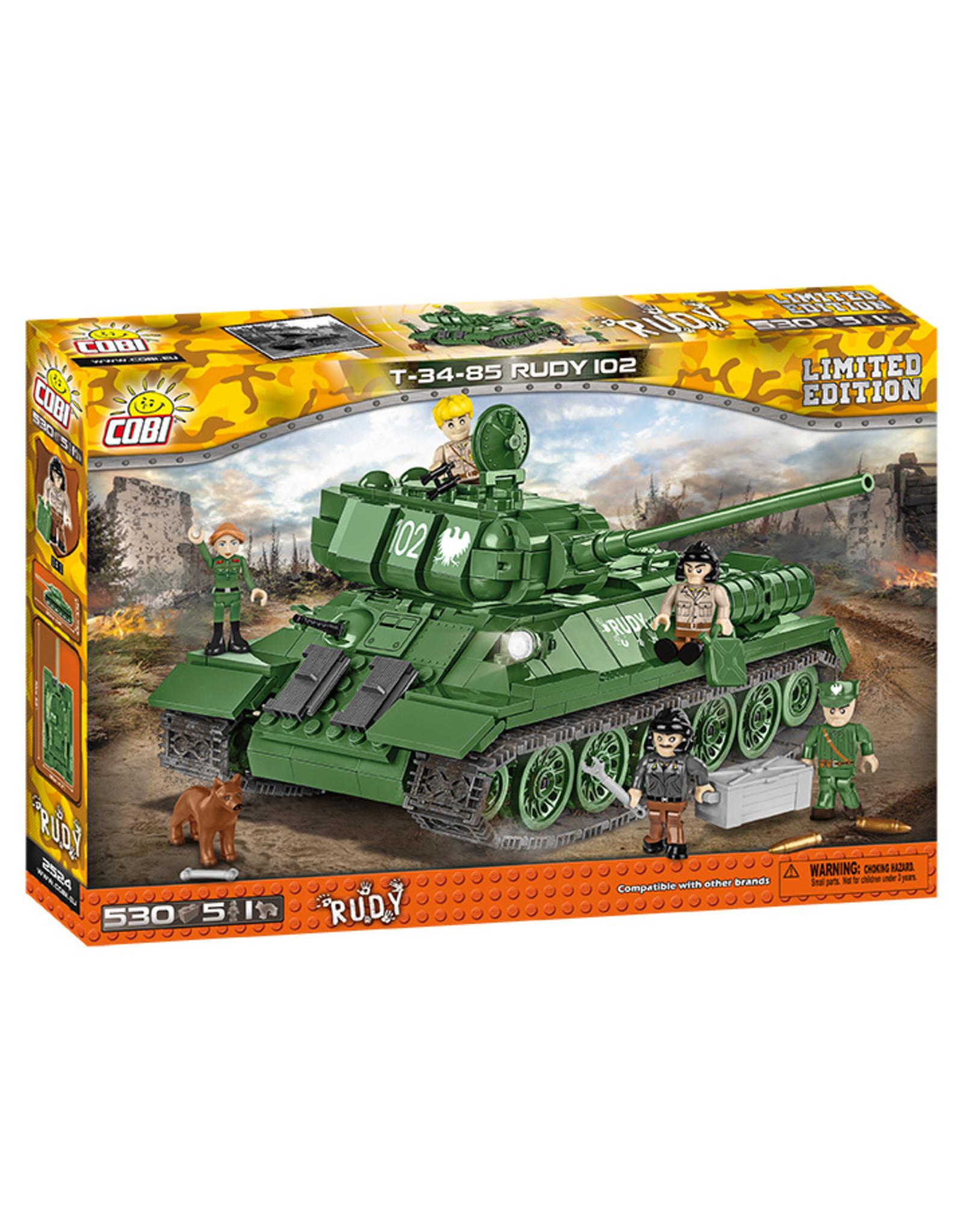 COBI COBI WW2 2524 T-34-85 Rudy 102