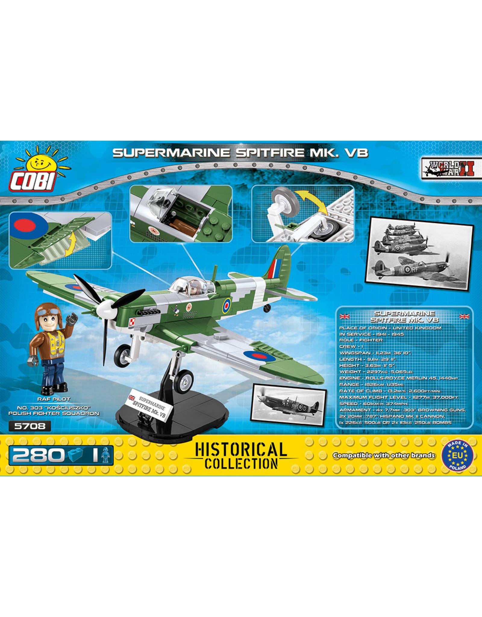 COBI COBI  WW2 5708 - Spitfire