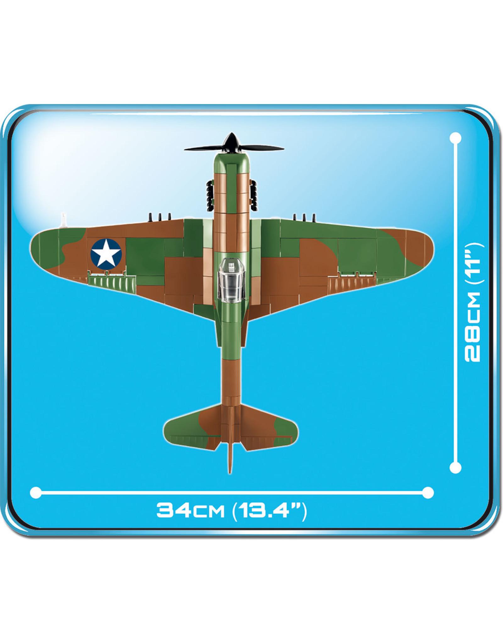COBI COBI  WW2 5706 - Curtiss P40 Warhawk