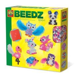SES Creative Beedz - Strijkkralen schattige dieren