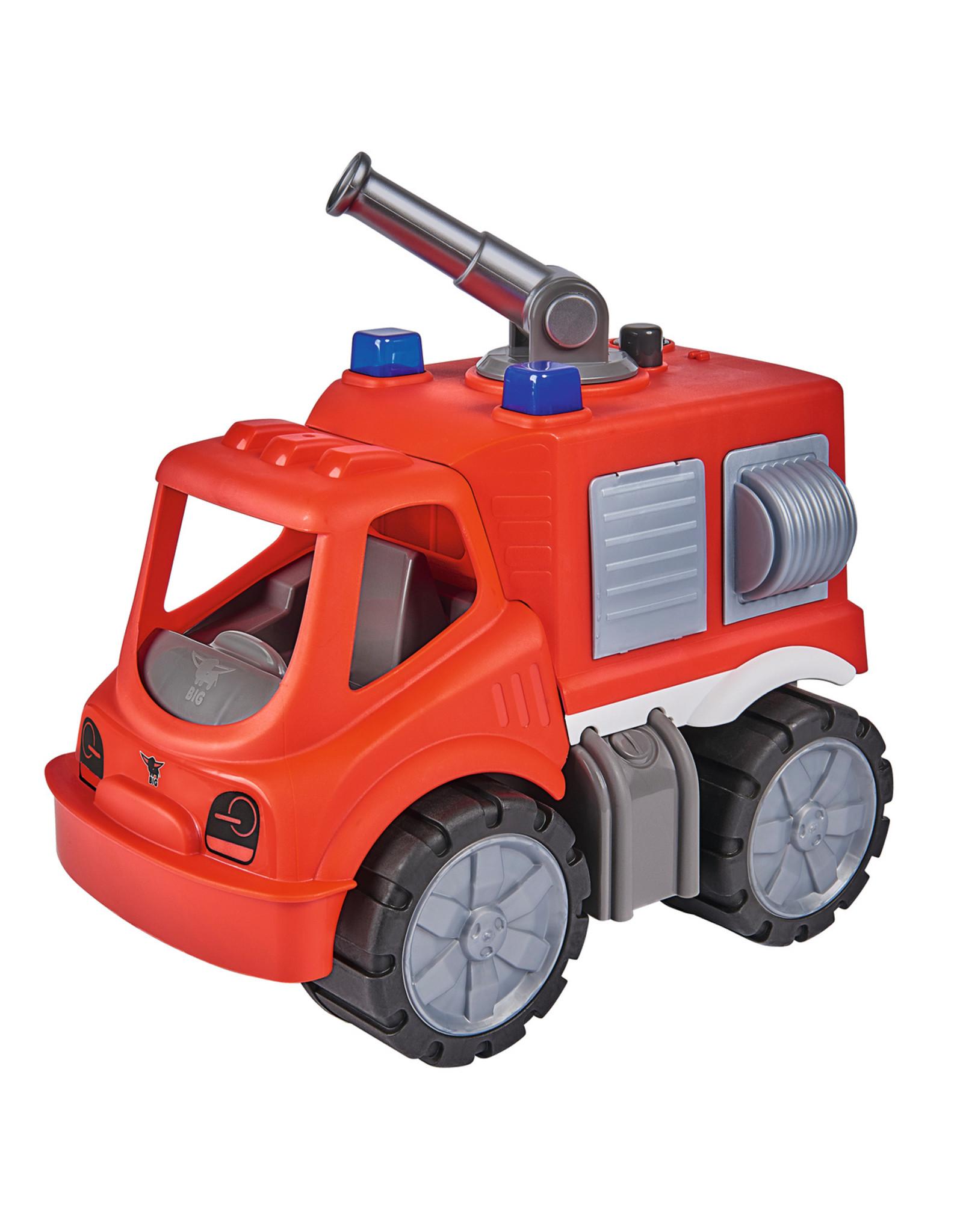 BIG BIG Power Worker Brandweer bluswagen