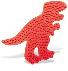 SES Creative Iron on beads pegboard T-rex
