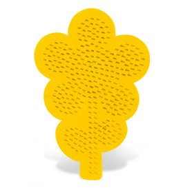 SES Creative Iron on beads pegboard flower