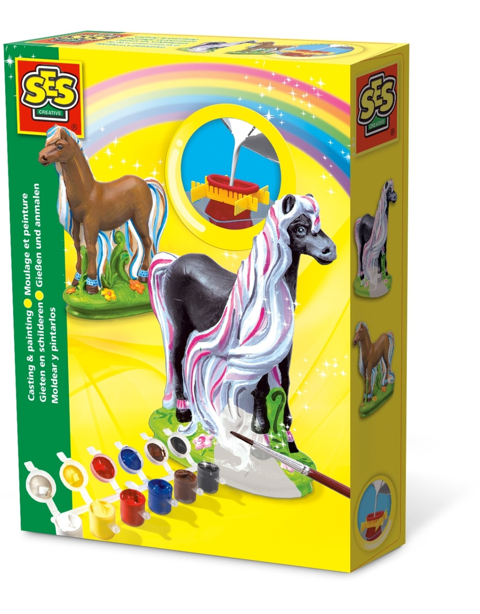 SES Creative Gießen und anmalen Pferd Trendy