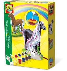 SES Creative Gieten en schilderen - Paard trendy