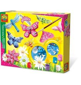 SES Creative Gieten en schilderen - Vlinders