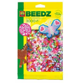 SES Creative Iron on beads 3000 pcs Girly