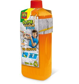SES Creative Slime battle navulling - Neon oranje  750ml