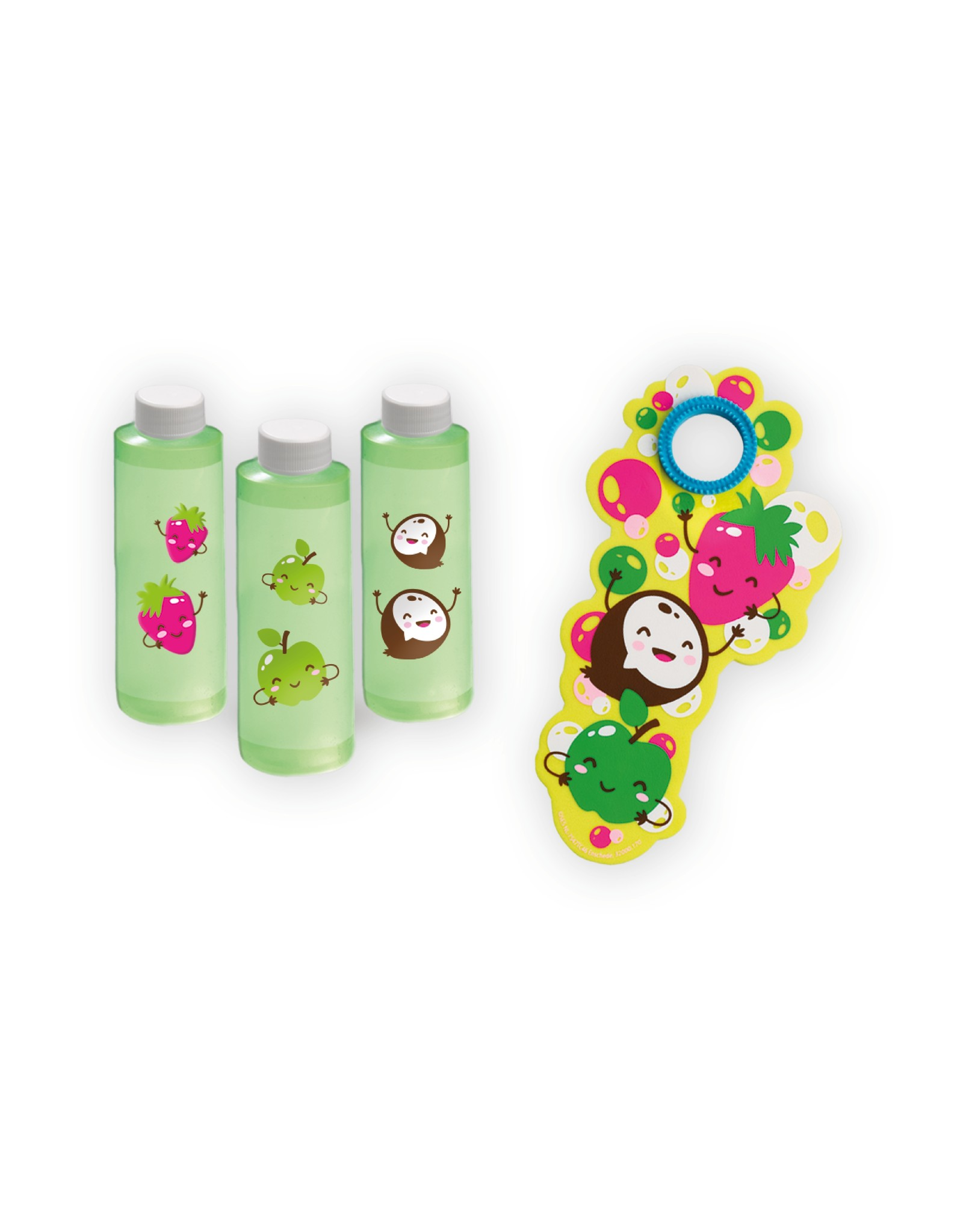 SES Creative *Fruitgeur bellenblaas  3x200ml