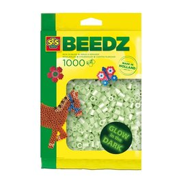 SES Creative Beads 1000 pieces Glow in the dark