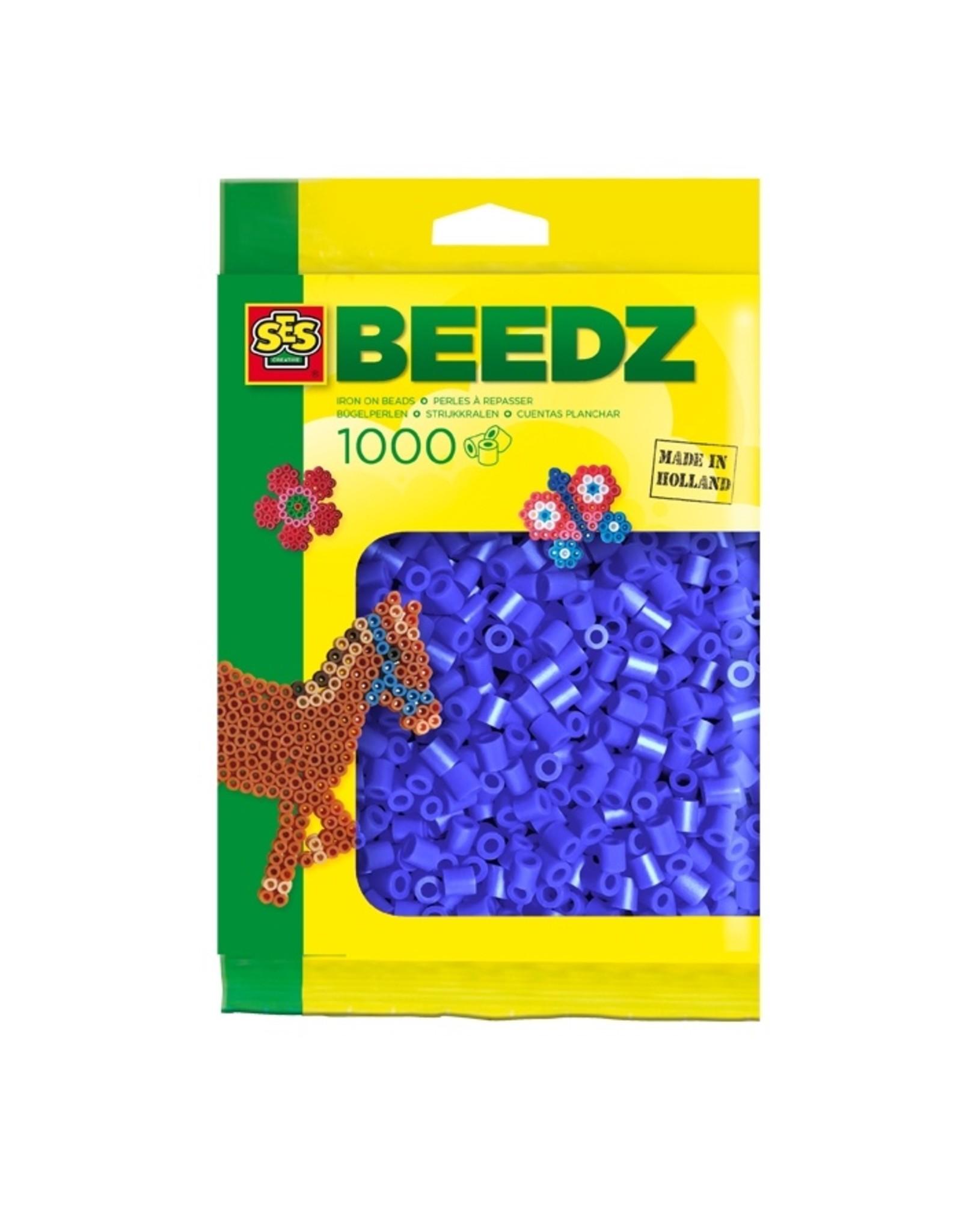 SES Creative Bügelperlen 1000 Stück dunkelblau