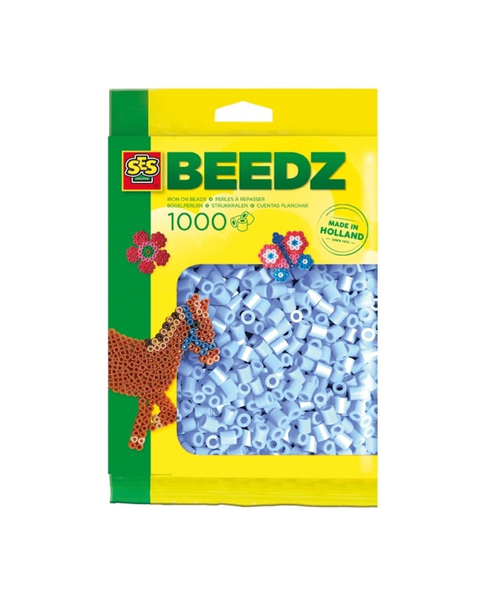 SES Creative Bügelperlen 1000 Stückhellblau