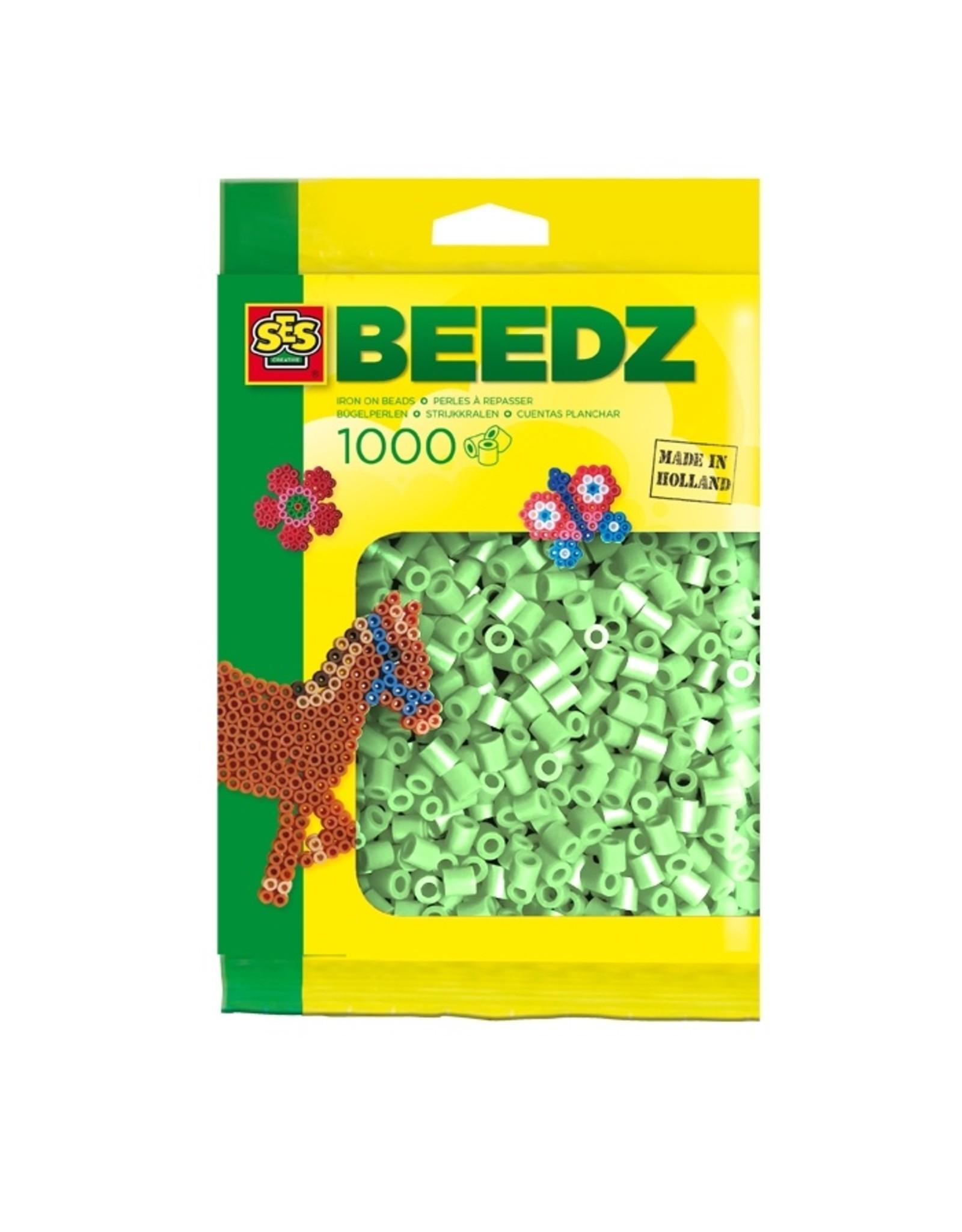 SES Creative Bügelperlen 1000 Stück minzgrün
