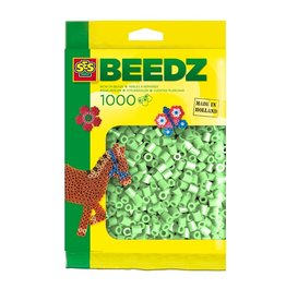 SES Creative Beads 1000 pieces mint green