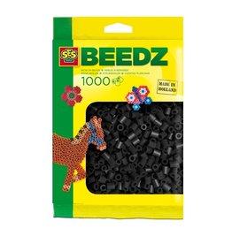 SES Creative Bügelperlen 1000 Stück schwarz