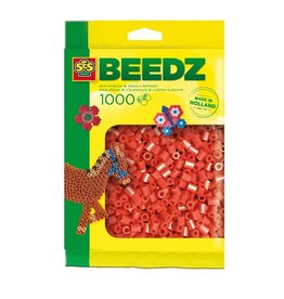 SES Creative Beads 1000 pieces red