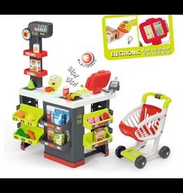 Smoby Supermarkt mit Einkaufswagen  -  Rollenspiele