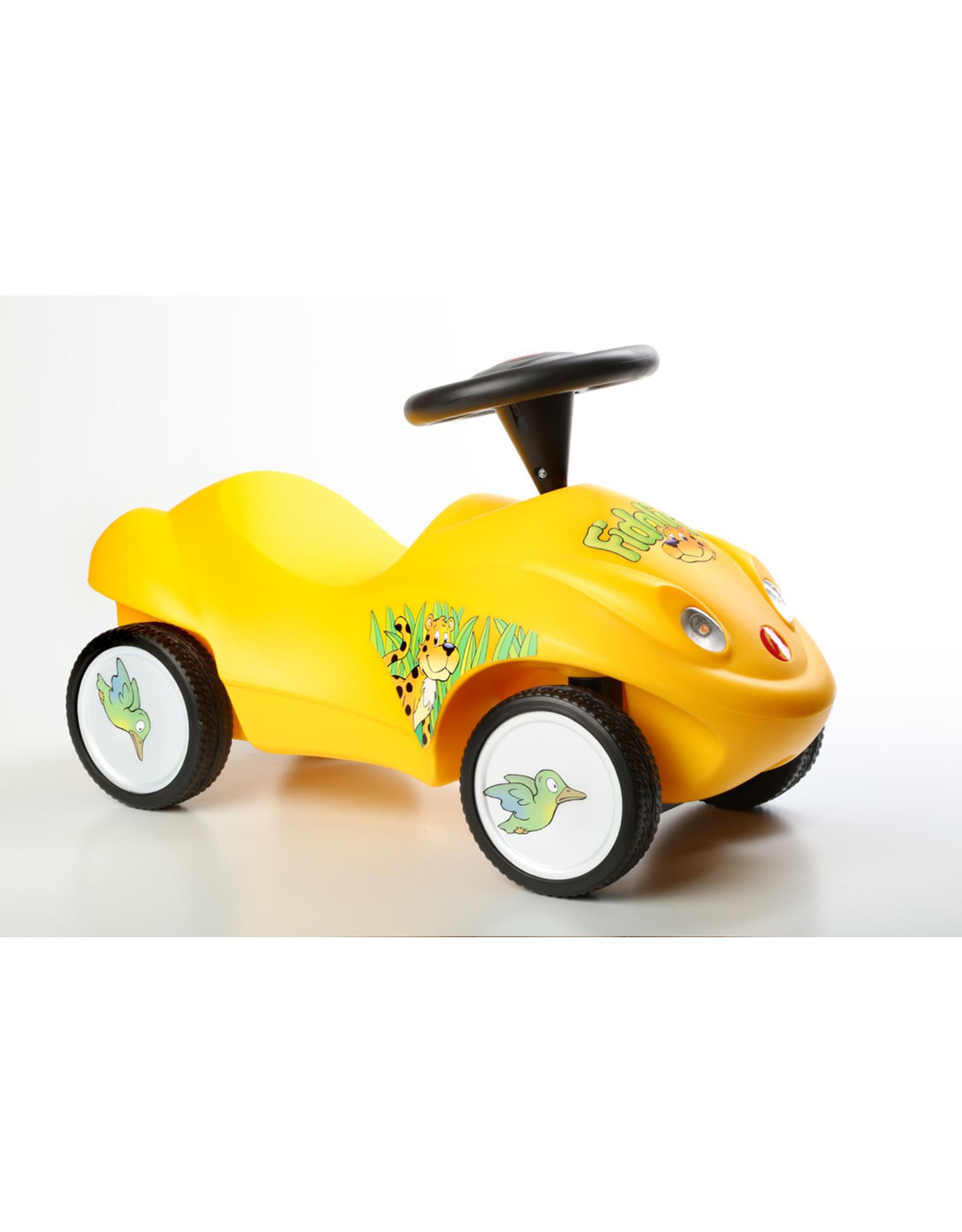 Ferbedo Ferbedo Loopauto Fidolino - geel