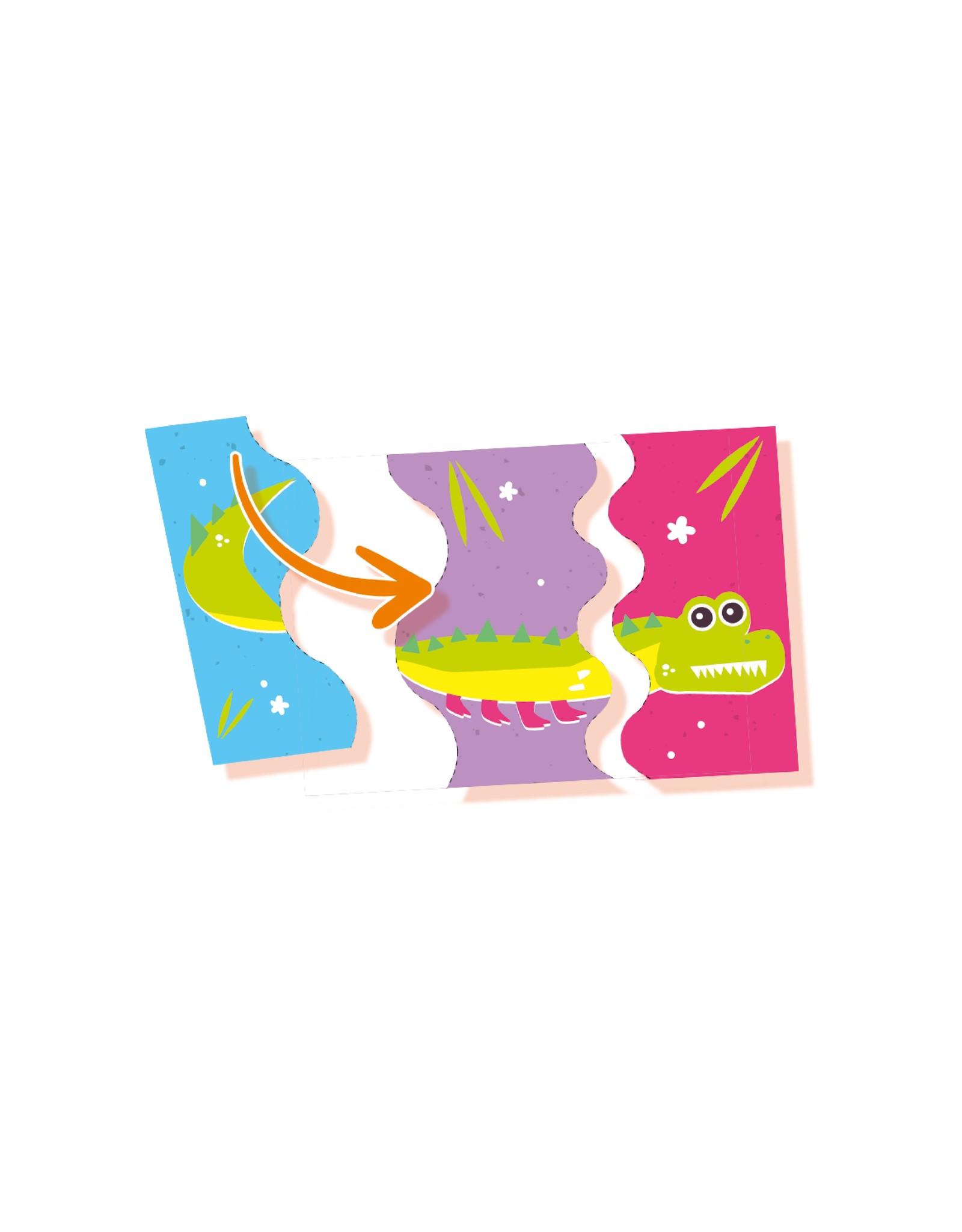 SES Creative Ich lerne schneiden - Tier-Puzzle