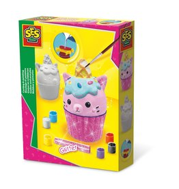 SES Creative Casting and painting - Unikitty cupcake