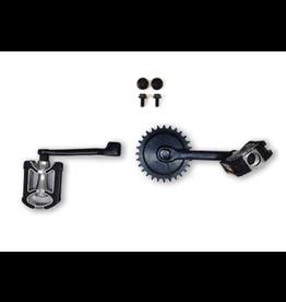 BERG Crankset 140, 28T with Pedals